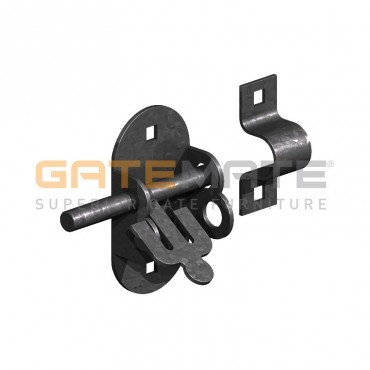 "BIRKDALE GM OVAL PADBOLTS 4"" 100MM E/BLAC P69"