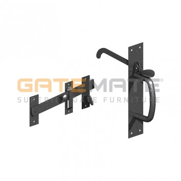 BIRKDALE GM SUFFOLK LATCHES HEAVY HEAVY E/BLAC P72