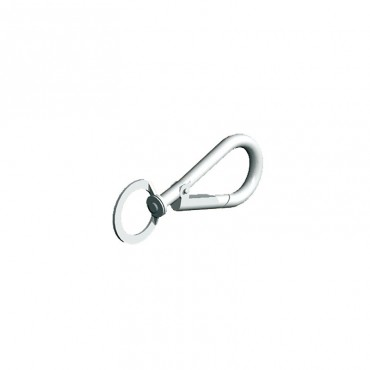 "BIRKDALE GM SWIVEL SPRING HOOKS (2P/P) 3"" 75MM BZP P89"