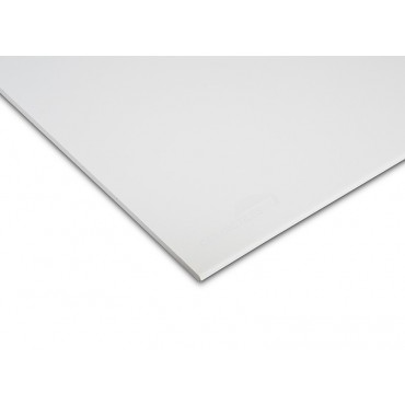600 X 600 BG SATIN SPA SUSPENDED CEILING TILE COATED WHITE