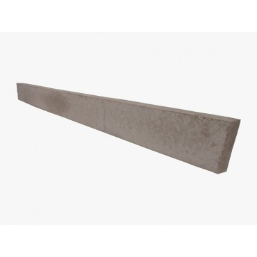 "6"" PLAIN CONCRETE GRAVEL BOARD"