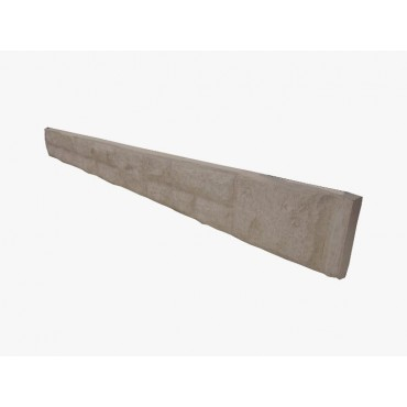 "6"" ROCK FACED CONCRETE GRAVEL BOARD"