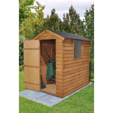 6' x 4' APEX SHED - EASYFIT ROOF