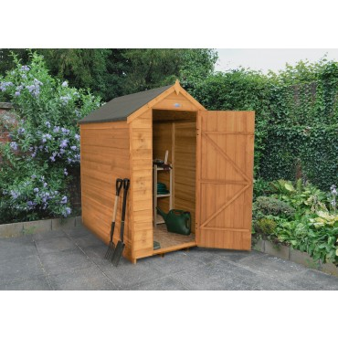 6' x 4' APEX SHED - NO WINDOW