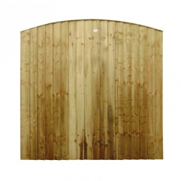 FEATHEREDGE PANEL ARCHED TOP