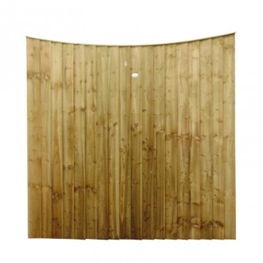 FEATHEREDGE PANEL BOWED TOP