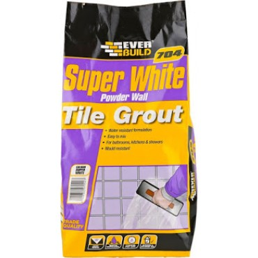 704 POWDER WALL TILE GROUT 3KG GROUT3