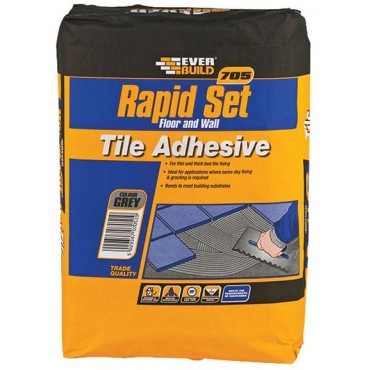 705 RAPID SET TILE MORTAR 20KG RAPID20