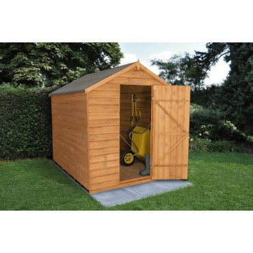8' x 6' APEX SHED - NO WINDOW