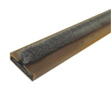 INTUMESCENT STRIP WITH BRUSH 15MM X 4MM BROWN