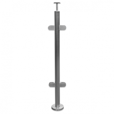 STAINLESS STEEL 316 INTERMEDIATE POST 900MM HIGH KSS.PRE.900.CNT FOR DECK HEIGHTS BELOW 600MM