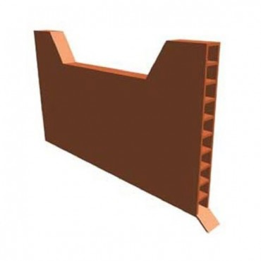 TIMLOC WEEP VENT 65MM X 10MM X 100MM BROWN