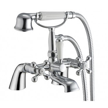 CLASSIC  BATH SHOWER MIXER WITH CRADLE