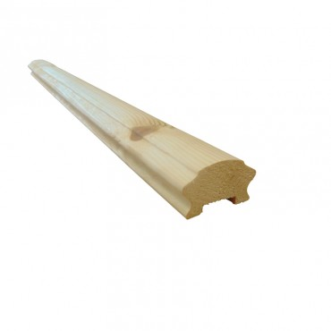 COTTAGE LOAF HANDRAIL TO SUIT 41MM SPINDLES