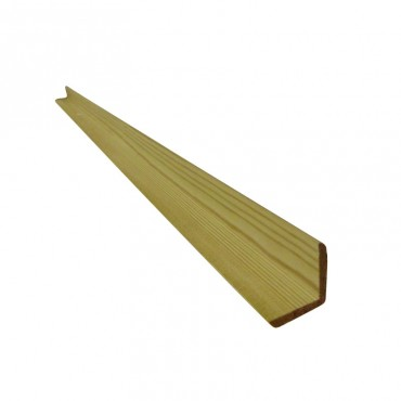 35MM x 35MM GREEN TREATED & PLANED CORNER ANGLE SECTION 2.4M