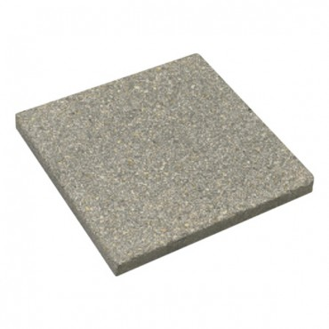 BRADSTONE TEXTURED PAVER FLAG 600 X 600 X 32 DARK GREY