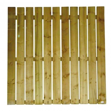25MM SINGLE FLAT TOP 150MM PALING PANEL 1.8 (6FT) X 6FT (1.83m)