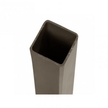 BROWN 2.4M CORNER SUPPORT GALV STEEL DURA CLASSIC FENCE POST