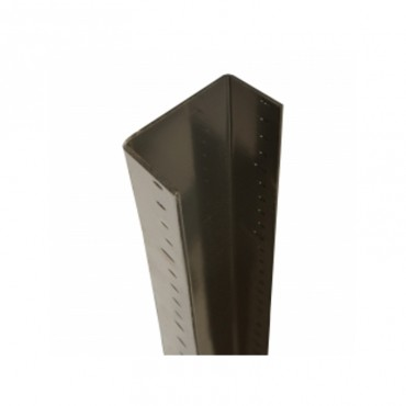 BROWN 3M END GALV STEEL U-CHANNEL DURA CLASSIC FENCE POST