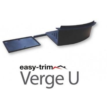 EASYVERGE STARTER & END CAP PACK (2) GREY DRY VERGE EASYTRIM EASYVERGEU/G/PCK
