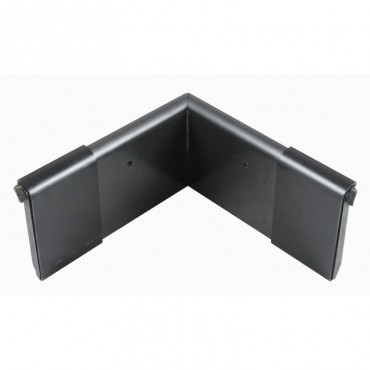EDPM QUICKTRIM CHECK CORNER BLACK 80MM X 80MM INTERIOR
