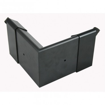 EDPM QUICKTRIM CHECK CORNER BLACK 80MM X 80MM EXTERIOR