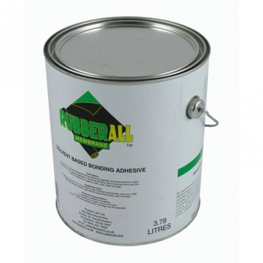 EDPM SOLVENT BASED ADHESIVE - 3.78L (COVERAGE 6-8M?)