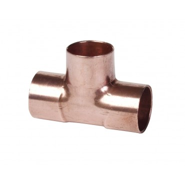 22MM ENDFEED EQUAL TEE  C X C X C