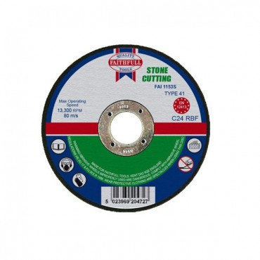 FAI/FULL CUT OFF WHEEL 230MM X 3.2 X 22 STONE FAI2303S