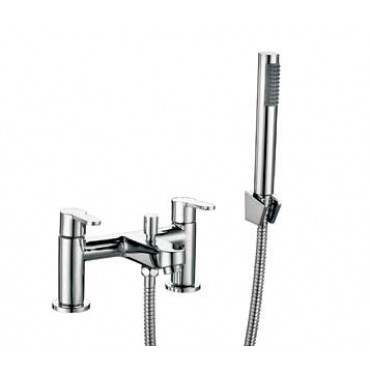 FAVOUR BATH SHOWER MIXER WITH WALL BRACKET