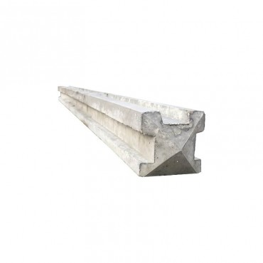 "4'6"" CONCRETE 3-WAY POST"
