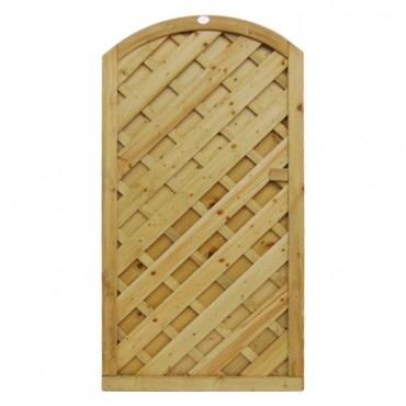 V-PANEL ARCHED GATE 1.8M H X .8M W