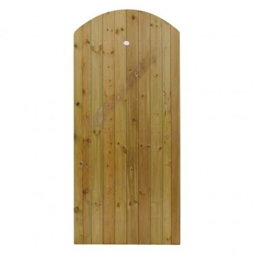CURVED ELITE T&G GATE 1.8M H X .9M W