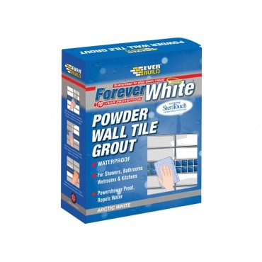FOREVER WHITE POW WALL TILE GROUT 1.2KG FWPOWGROUT1