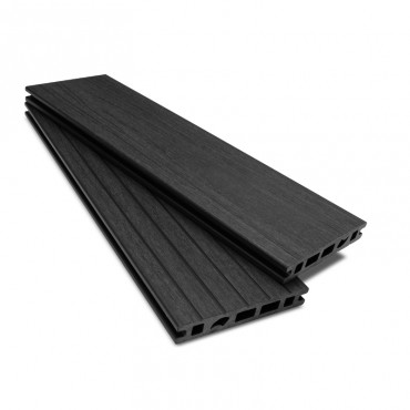 MC COMPOSITE PLUS DECK BOARD 150MM X 25MM BLACK