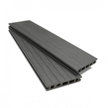 MC COMPOSITE PLUS DECK BOARD 150MM X 25MM. DARK GREY
