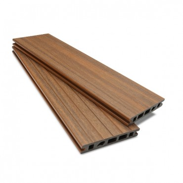 MC COMPOSITE PLUS DECK BOARD 150MM X 25MM LIGHT BROWN