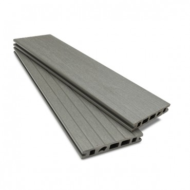 MC COMPOSITE PLUS DECK BOARD 150MM X 25MM MID GREY