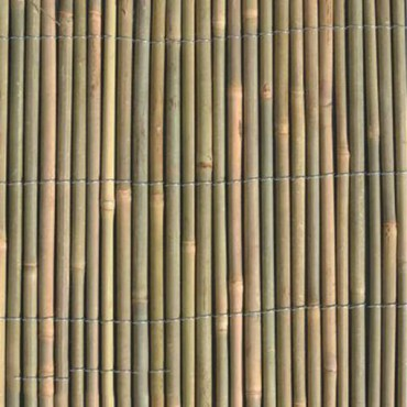 WS951 Whole Bamboo Natural Screening 1.5m x 4m