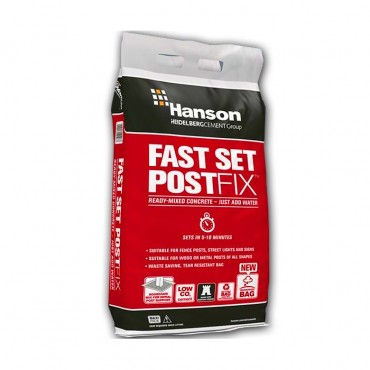 HANSON FASTSET POST MIX  POLYBAG 20KG