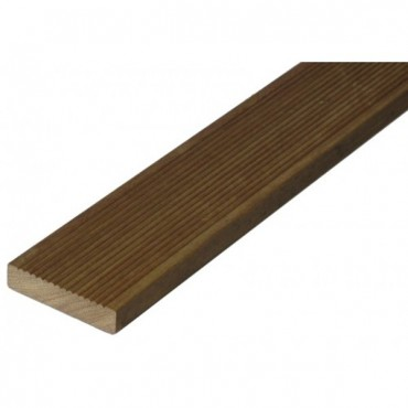 HARDWOOD DECKING BOARD EX 150 X 25MM (FINISHED SIZE 145 X 20MM)