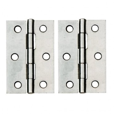 SC 1838 100mm Steel Butt Hinge (x2) - Dalepax DX40522
