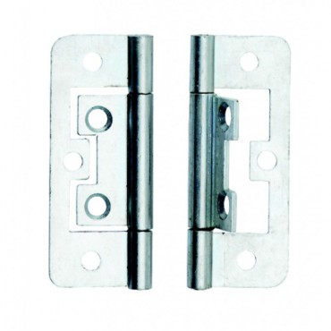 Flush Hinge ZP 63mm (x2) - Dalepax DX40563