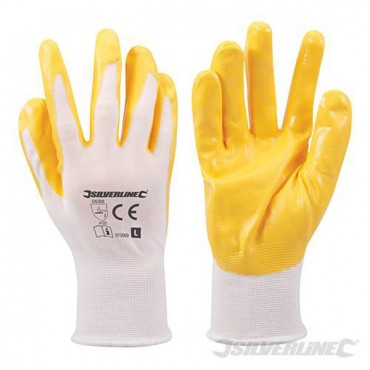 NYLON NITRILE COAT GLOVES 675069