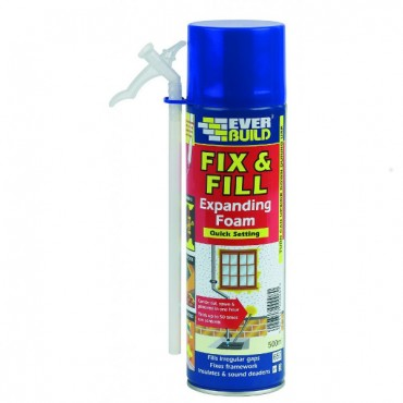 500ML FIX & FILL FOAM EVFF5