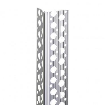 15MM PLASTIC RENDER ANGLE WHITE