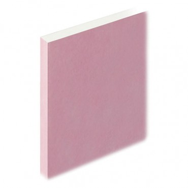 FIRE PANEL PLASTER BOARD SQUARE EDGE 2400 X 1200 X 15MM *THIS ITEM IS NON REFUNDABLE*