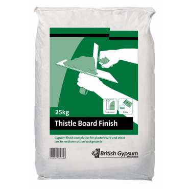 25KG BOARD FINISH PLASTER *PLEASE NOTE THIS ITEM IS NON REFUNDABLE*