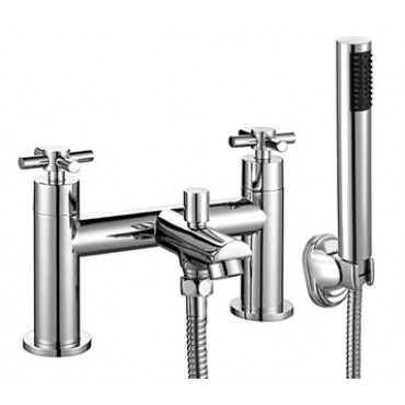 KROSS BATH SHOWER MIXER WITH WALL BRACKET