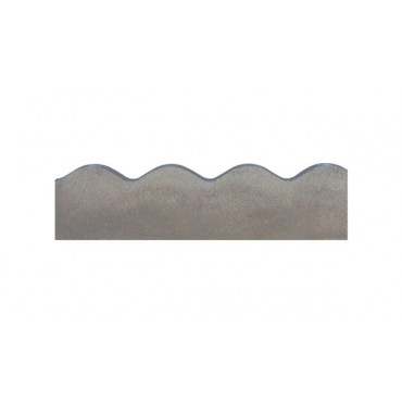 BRADSTONE CONTOUR (SCALLOPED) EDGING 600 X 150 GREY